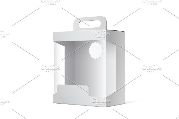 Light Realistic Package Box