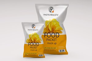 Food Packaging Mock up
