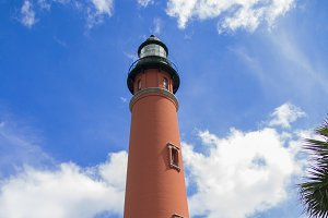 Ponce Inlet light house in Florida