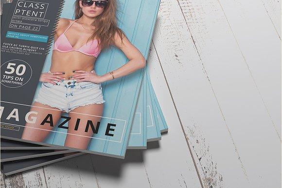 Magazine Brochure Mockups