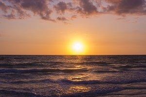 Treasure Island Florida sunset