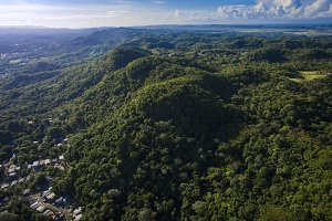 Mountains in San German Puerto Rico