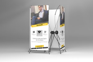 Banner Stand Mock Ups