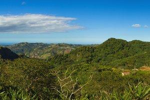 Mountain range in Puerto Rico