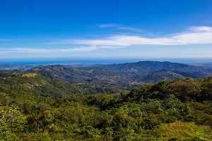View from Orocovis Puerto Rico