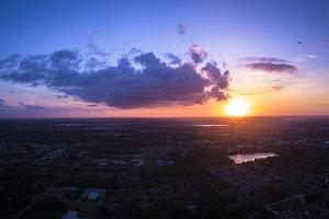 Beautiful Sunset in Orlando Florida