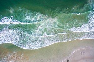 Top view Daytona Beach