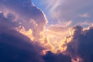 Dramatic clouds