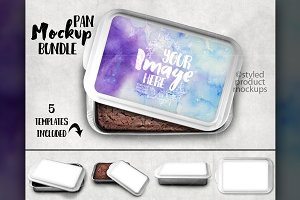 Sublimation Cake Pan Mockup