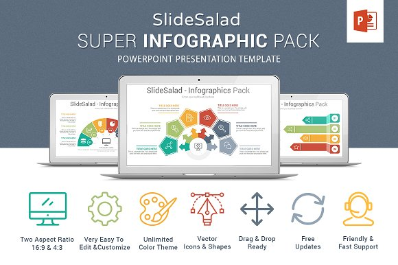 best powerpoint infographics pack presentation templates