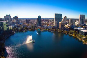 Orlando Florida, Lake Eola