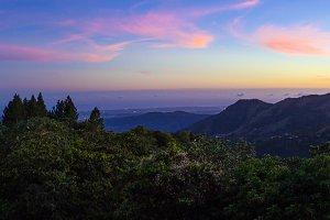 Mountains in Villalba Puerto Rico