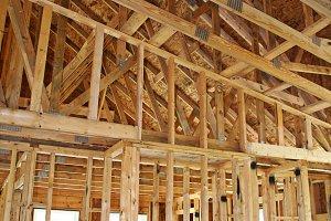 Wooden House Framework