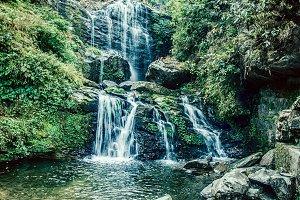 Vibrant Waterfall