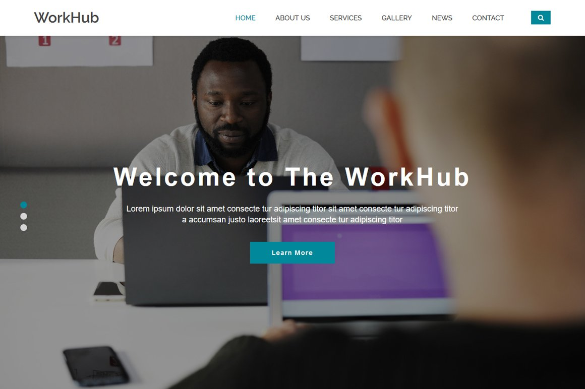 Corporate business html5 template htmlcss themes creative market workhub business html5 template accmission Choice Image