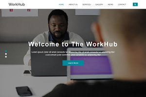 WorkHub - Business HTML5 Template