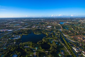 Aerial view of Pembroke Pines