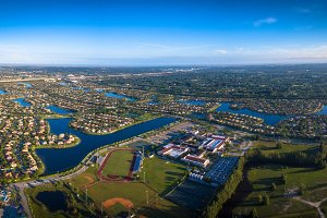 Panoramic view of Pembroke Pines