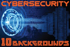 Cybersecurity 10 Backgrounds