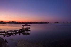 Lake in Orlando Florida