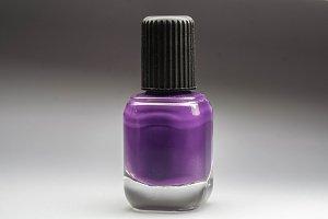 Vial of nail polish