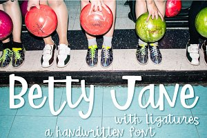 Betty Jane Font