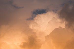 Storm Clouds Backdrop