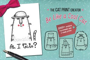 The print creator - Like a Cool Cat