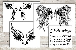 Ethnic wings