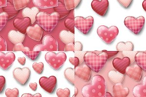 seamless valentines day patterns