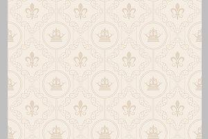 Seamless pattern, vintage