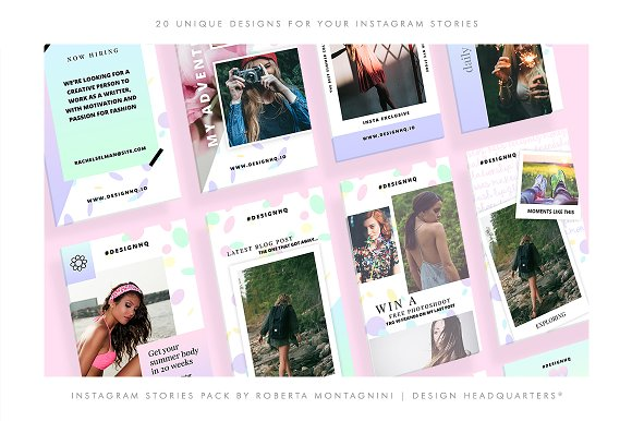 INSTAGRAM STORIES - SIMPLY GORGEOUS in Instagram Templates - product preview 2