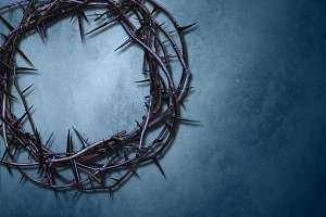 Crown of thorns background