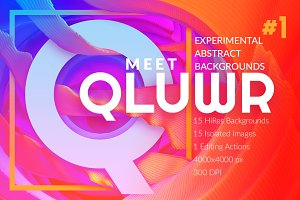 Qluwr | Abstract Background Kit Vol1