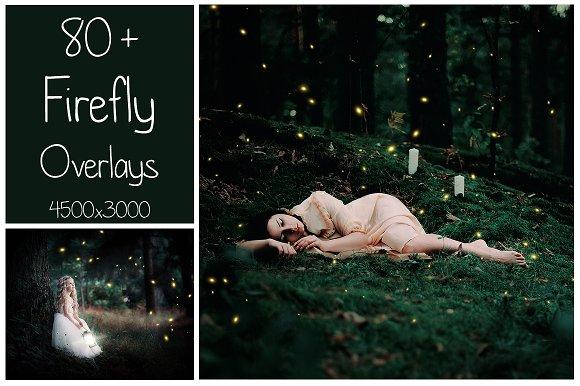 80+ Firefly Overlays-Graphicriver中文最全的素材分享平台