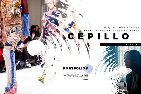 CEPILLO Premium Keynote Template