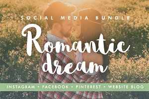 48 Social Media Templates - Romantic