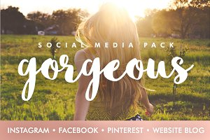 Gorgeous Social Media Template Pack
