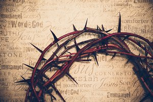 Crown of Thorns with Jesus names