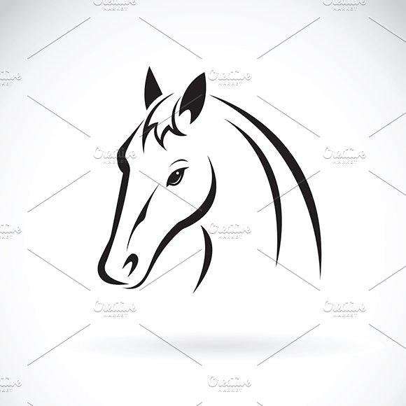 Vector Of A Horse Head