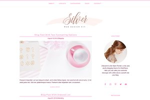 Feminine Blog + Shop Genesis Theme