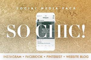 So Chic! Social Media Pack