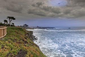 West Cliff Drive Coastline Views