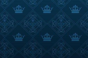dark blue background vintage vector