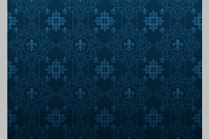 dark blue background vintage