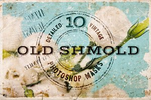 Old Shmold Vintage Photoshop Masks