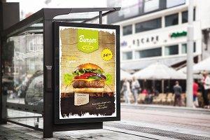 Burger Restaurant Flyer Template