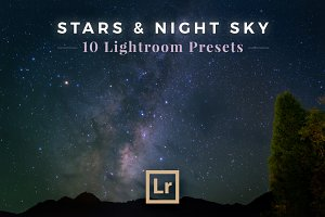 Stars & Night Sky Lightroom Presets