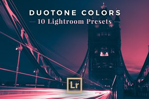 Duotone Colors, 10 Lightroom Presets