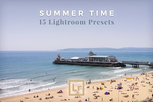 Lightroom Presets for Summer Scenes